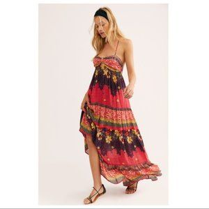 FREE PEOPLE Give a Little Maxi Medium NWT